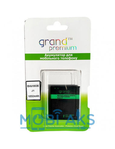 Аккумулятор Grand Premium Samsung Galaxy J100 (EB-BJ100CBE)