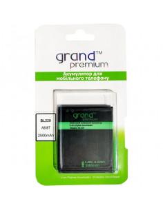 Аккумулятор BL229 для Lenovo A8 Grand Premium (2500 мАч)