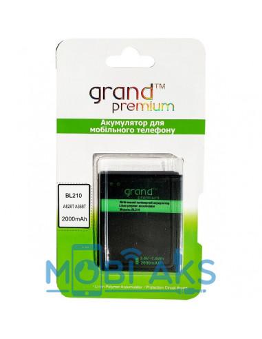 Аккумулятор Lenovo BL210 Grand Premium