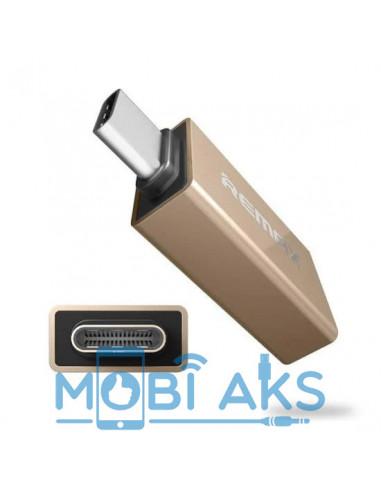 Переходник Remax OTG Type-c RA-OTG1 USB 3.0