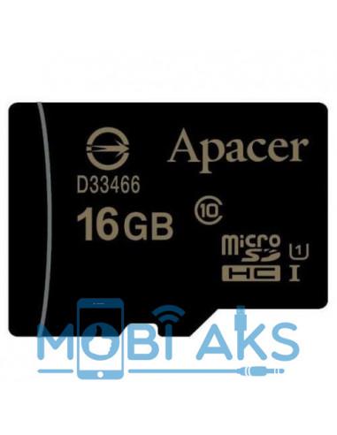 Карта памяти Apacer microSDHC 16GB...